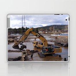 River Work Laptop & iPad Skin