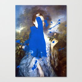 Blue Bomb Canvas Print