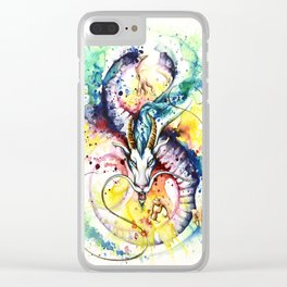 """""""Into the mirror"""" n°5 : The Dragon Clear iPhone Case"""