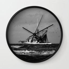 Ocean Ventures Wall Clock