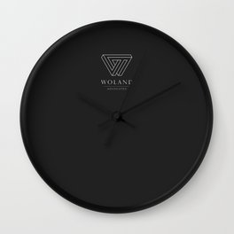 Woland Advocates Wall Clock