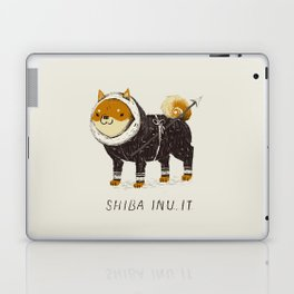 shiba inu-it Laptop & iPad Skin