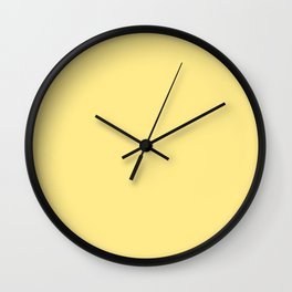 Lemon Yellow Sorbet Ice Cream Gelato Ices Wall Clock