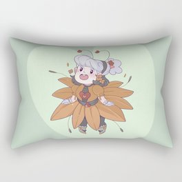 Sunflower Opal Rectangular Pillow
