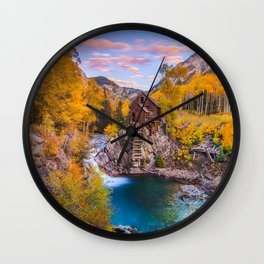 Crystal Mill Wall Clock