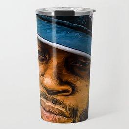 J dilla Print Travel Mug