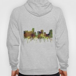 Miami, Florida Skyline SG - Safari Buff Hoody
