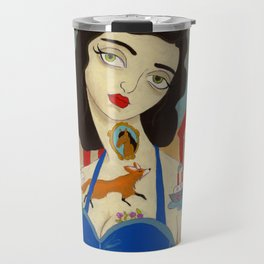 Tattooed Lady Travel Mug