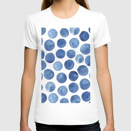 Blue dots T-shirt