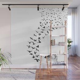 Sheba the Bird Worrier Wall Mural