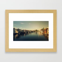 Seattle South Lake Union Framed Art Print