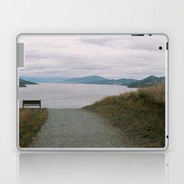 view of okanagan lake from knox mountain Laptop & iPad Skin