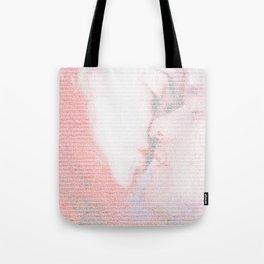 Eternal Sunshine Script Print Tote Bag