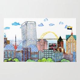 Milwaukee Watercolor Rug