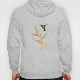 Hummingbird & Flower II Hoody
