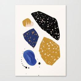 Seaside Rocks 1 Canvas Print