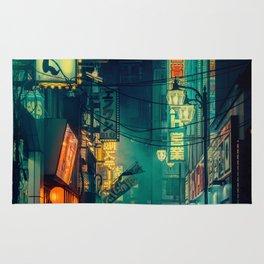 Tokyo Nights / Memories of Green / Blade Runner Vibes / Liam Wong Rug