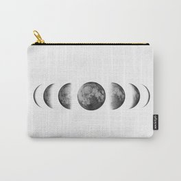 Phases of the moon - Scandinavian art Carry-All Pouch