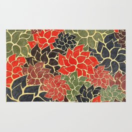 Floral Abstract 17 Rug