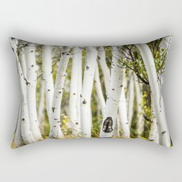 Picture Aspen Trees Rectangular Pillow