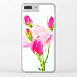 family roses Clear iPhone Case
