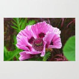 dreamlike pink bloom Rug