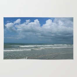 Dramatic Sky Over Litchfield Beach Rug