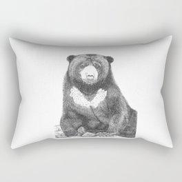 Malayan Sun Bear (Beruang Madu) Rectangular Pillow