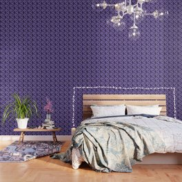 Batty purple Wallpaper