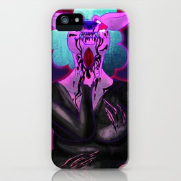 Open My Throat iPhone Case