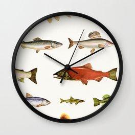 Fishing Line Wall Clock