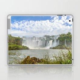 Waterfalls Landscape at Iguazu Park Laptop & iPad Skin