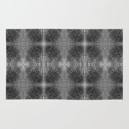 Tryptile 17 B+W (Repeating 1) Rug