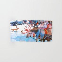 Reindeers and friends Hand & Bath Towel