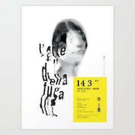Arte della Fuga Art Print