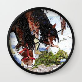 """Gentle Giants"" Wall Clock"