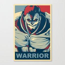 Armored Titan - Warrior Canvas Print