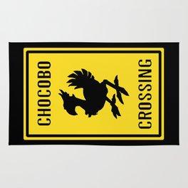 FINAL FANTASY: WARNING, CHOCOBO CROSSING Rug