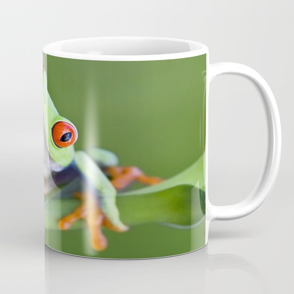 Red-eyed Tree Frog Mug by Markkostich MUG975116