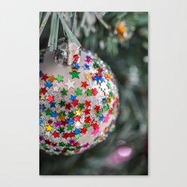 christmas stars Canvas Print
