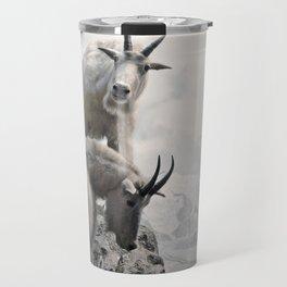 Hi, we are the mountain goats Travel Mug
