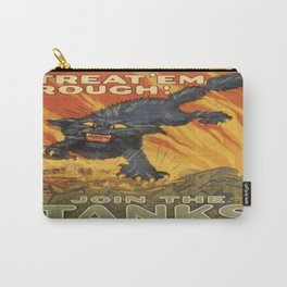 Vintage poster - Join the Tanks Carry-All Pouch