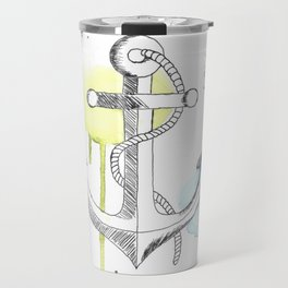 Ancre de bateau (Aquarelle) Travel Mug