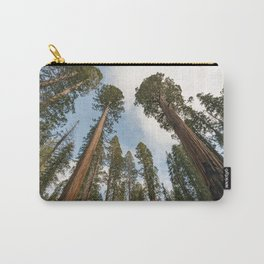 Redwood Sky - Giant Sequoia Trees Carry-All Pouch