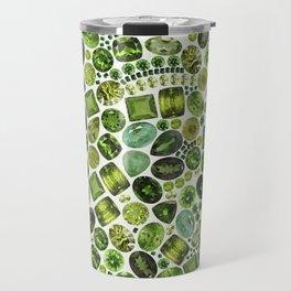 Green Gems Travel Mug