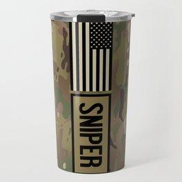 Military: Sniper (Camo) Travel Mug