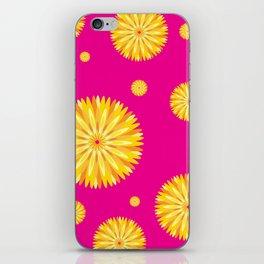 Blooming Flower iPhone Skin