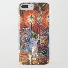 You light up my rain iPhone Case