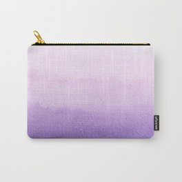 Purple watercolor texture Carry-All Pouch
