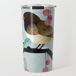 Bird, Watching Travel Mug